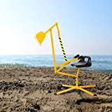 Peach Tree Kids Ride-on Sand Digger Metal Excavator Outdoor Digging Toy