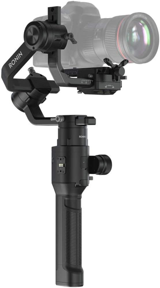 DJI Ronin-S - Camera Stabilizer 3-Axis Gimbal Handheld for DSLR Mirrorless Cameras up to 8lbs / 3.6kg Payload for Sony Nikon Canon Panasonic Lumix, Black : Camera & Photo