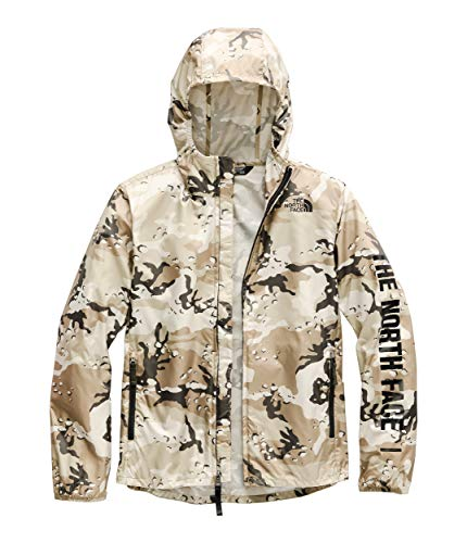 The North Face Kids Boy's Novelty Flurry Wind Hoodie (Little Kids/Big Kids) New Taupe Green Desert Youth Print Medium (Youth North Face Ski Jacket)