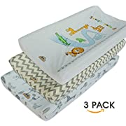 Ultra Soft and Comfty Changing Pad Cover 3pk by BlueSnail (gray set)