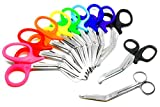Rainbow of EMT Paramedic Scissors 11 per Set - Take Pride Scissors - Ideal Holiday and Birthday Gift for EMT, Nurses, Doctor, Paramedic, Firefighter and Police