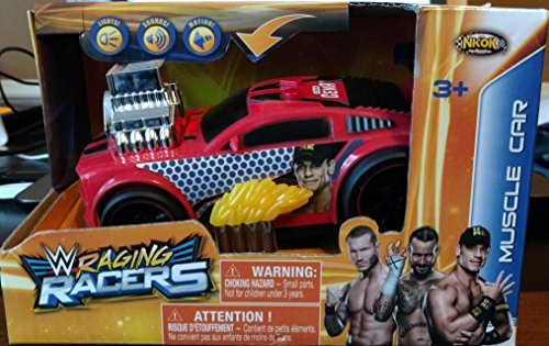 Raging Racers WWE Muscle Car John Cena by Raging Racers