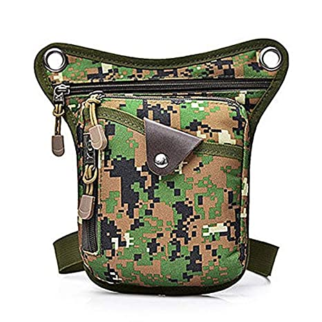 13e8686fdffd Crossbody Bags - Men Shoulder Crossbody Bags Nylon Leg Bag Tactical  Military Belt Waist Fashion Phone