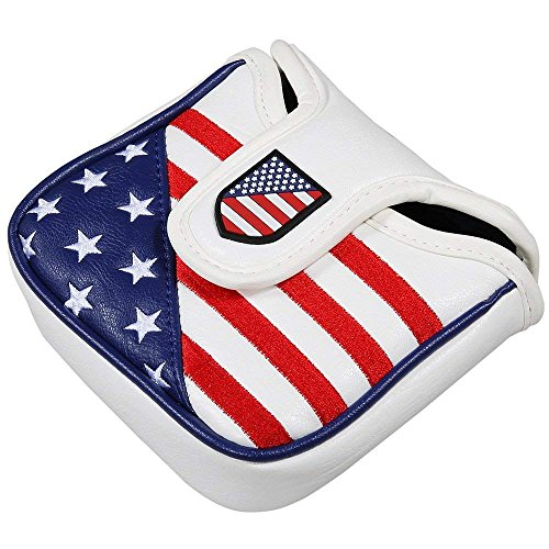 Montela Golf Stars and Stripes Magnetic Closure Golf Putter Covers For Scotty - Futura Putter Headcovers