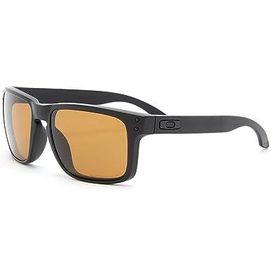Oakley OO9102 - 68 Holbrook Gafas de Sol Negro, Hombre, Color Matte Black/Bronze, tamaño Talla única: Amazon.es: Deportes y aire libre