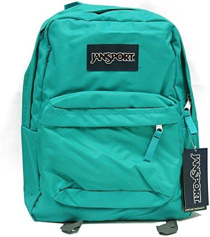 Classic Jansport Superbreak Backpack Spanish Teal T50101H