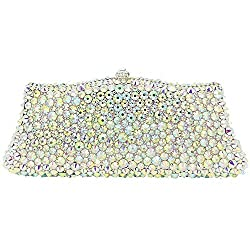 Women's Diamond Rhinestone Sequins Evening Clutch