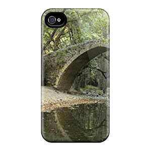 BretPrice Zhi1188IpOI Case For Iphone 4/4s With Nice Stone Bridge In Forest Appearance by lolosakes