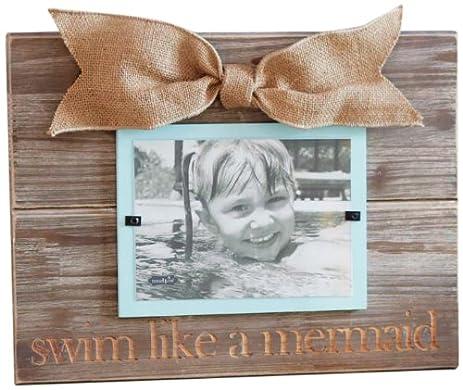 mud pie swim like a mermaid photo frame - Mud Pie Picture Frames