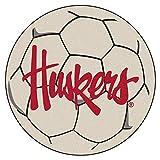 Fanmats 20664 Nebraska Huskers Soccer Ball, Team Color, 27'' Diameter