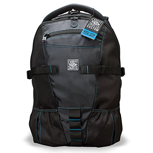 Cardiff Skate Co. Skate Backpack with Blue Accent,