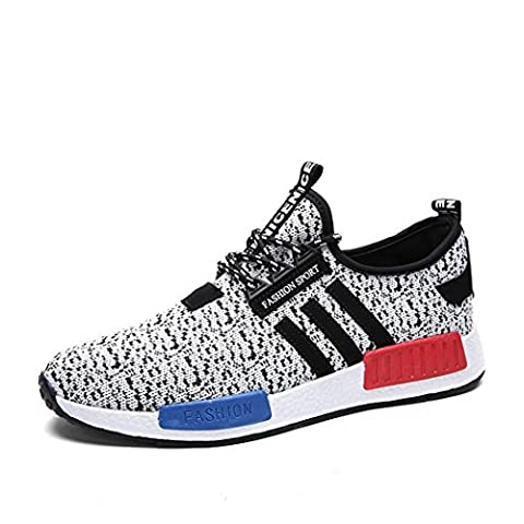 An'Dee Men's Fashionable New Style Lace-up Breathable Antiskid Outdoor Sport Casual Shoes Sneakers(44 M EU/10 D(M) - Mens Sprint Walker