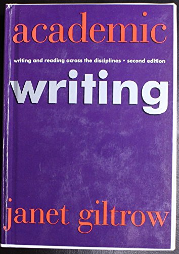 Academic Writing -