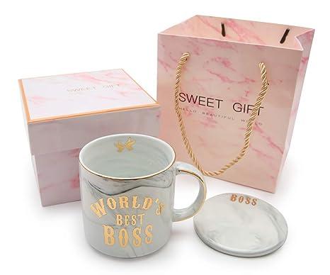 Amazon Worlds Best Boss Mug Christmas And Birthday Gifts