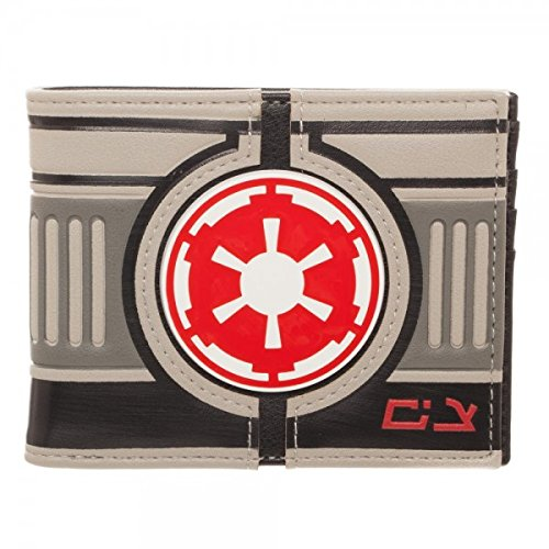 Mens Wallet Icon (Star Wars Hoth AT-AT Driver Bi-Fold Wallet by Bioworld)