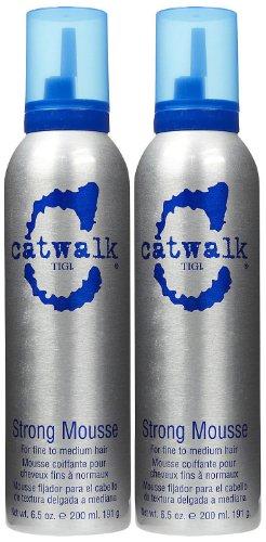 TIGI Catwalk Strong Mousse, 6.5 oz