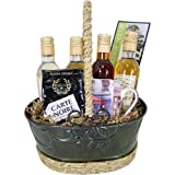 Coffee, Syrup and Mug - Coffee or Tea Gourmet Gift Baskets with Syrup, and more