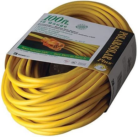 B00004SQFK Coleman Cable 01289 100-Foot All-Weather 16/3 Extension Cord with Lighted End 51HHDYVVGYL