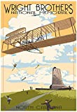 Wright Brothers National Memorial - Outer Banks, North Carolina Poster 13 x 19in