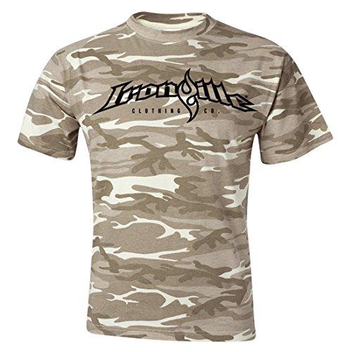 Ironville Weightlifting Desert Wood Camo T Shirt Desert Wood camo XL