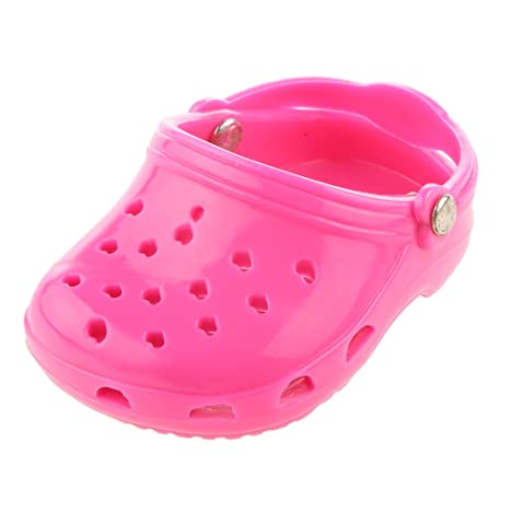9641812cfe8 Sandalias de Playa Zapatos Rosa para Muñecas American Girl Moda ...