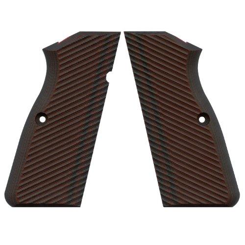 VZ Grips Hi Power Pro Slims Gun Grip, Black Cherry