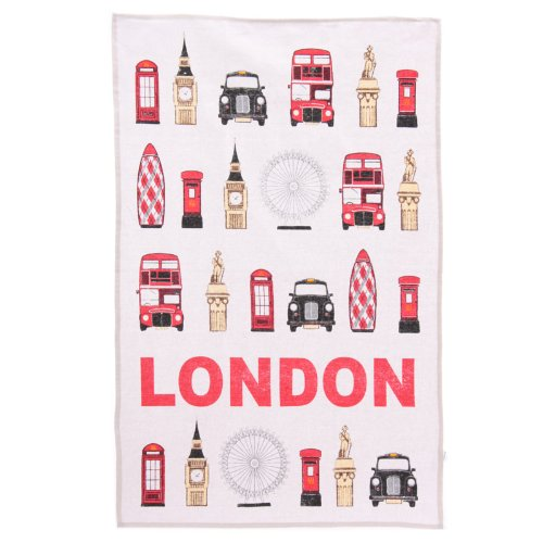 Ted-Smith-London-Landmarks-Cotton-Tea-Towel