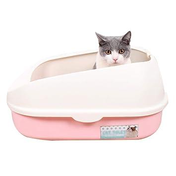 MAOSP Arenero para Gatos, Inodoro para Gatos Semi Cerrado ...