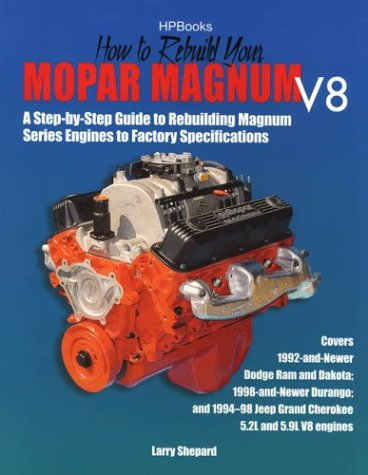 Mopar Magnum (How to Rebuild Mopar Magnum V8 Engines HP1431)