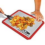 Silicone Baking Mat - Nonstick Commercial Grade Quality at Consumer Prices - Lifetime Guarantee - Endorsed by Top Rated Chef - Cook Lean Low Fat Healthy Food with Less Calories - No Need For Foil, Greasing or Parchment - FDA Quality Bakeware Accessories -