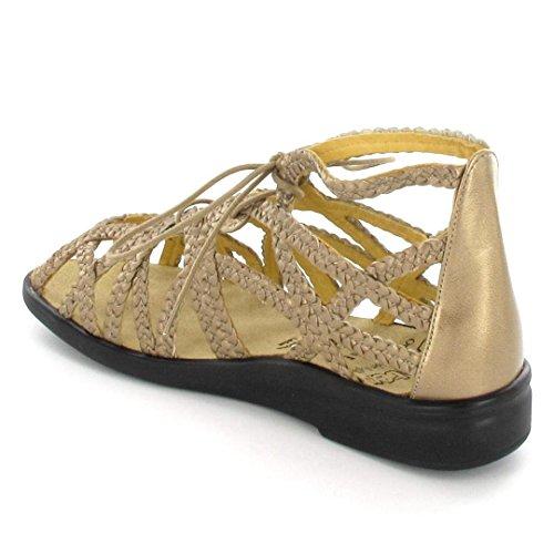 Ganter Ladies Sonnenica-e Hs Sandali Romani, Oro (oro)