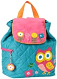 Stephen Joseph Quilted Backpack, Owl