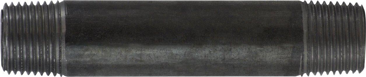 Steel Midland 57-245 Black Steel Nipple 1//2 OD Pack of 3 48 Length SCH 40 Welded 1//2 Diameter 1//2 Diameter 48 Length 1//2 OD Midland Metal