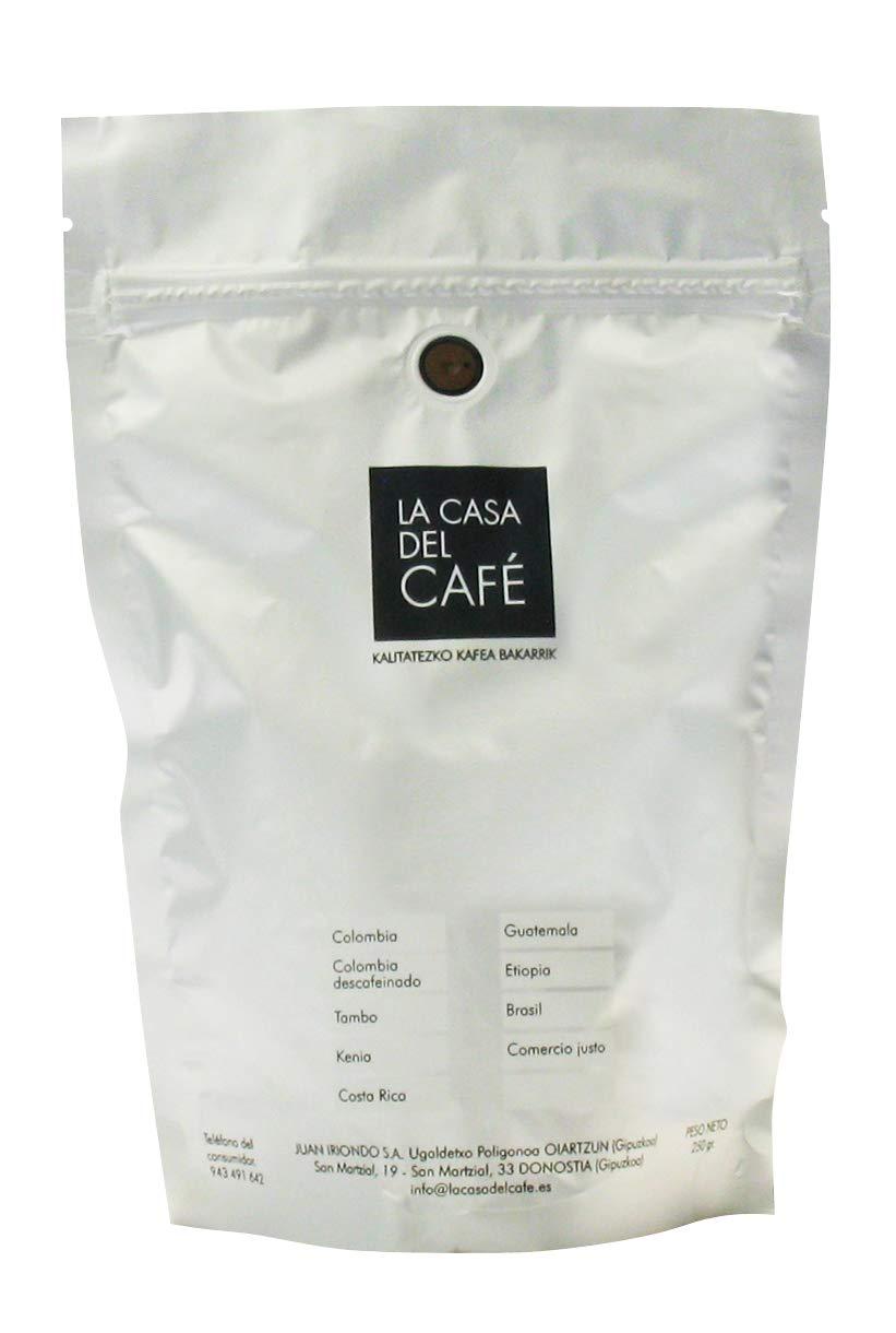 Café gourmet de Colombia molido (paquete 250 grs): Amazon.es: Hogar