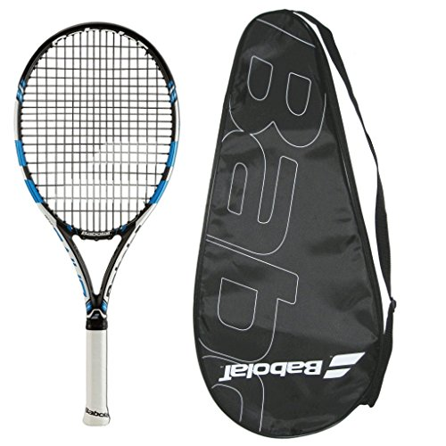 Babolat 2018 Pure Drive Junior 26 STRUNG with COVER Tennis Racquet
