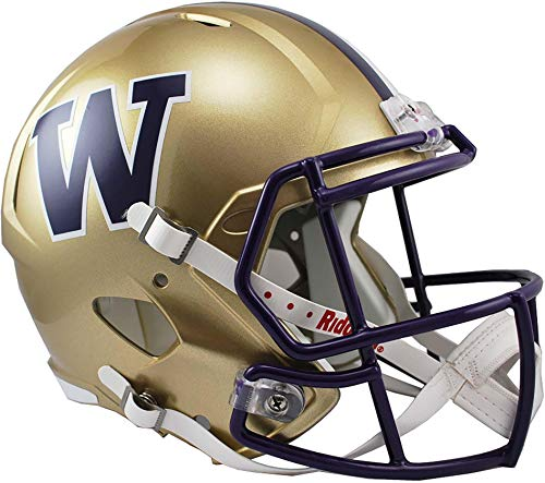 Sports Memorabilia Riddell Washington Huskies Revolution Speed Full-Size Replica Football Helmet - College Replica Helmets
