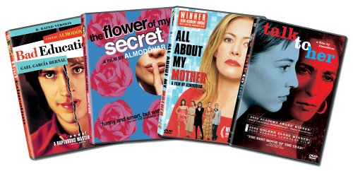 Pedro Almodovar 4-pack (Bad Education / Flower of my Secret / All About My Mother / Talk to Her) - Amazon.com Exclusive