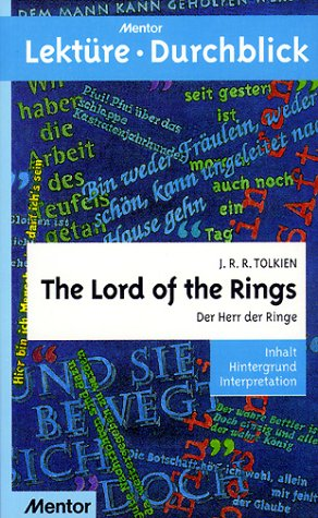 Lektüre Durchblick The Lord of the Rings