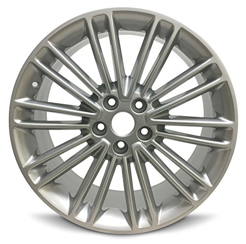 Road Ready Car Wheel For 2013-2016 Ford Fusion 18 Inch 5 Lug Gray alloy Rim Fits R18 Tire - Exact OEM Replacement - Full-Size Spare (Ford Fusion 17 Rims)