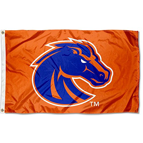 BSU Boise State Broncos University Large College Flag