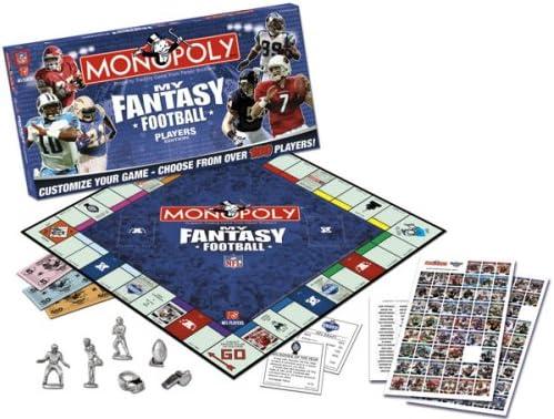 Amazon.com: Monopoly My Fantasy jugadores de fútbol edición ...