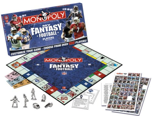 Monopoly My Fantasy Football Players (Nfl Monopoly)