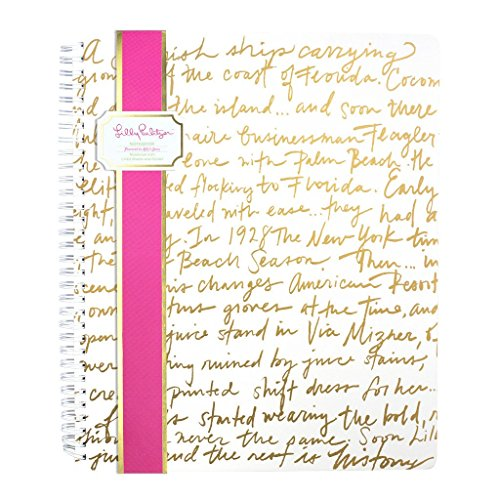 Lilly Pulitzer large notebook, Lilly Story