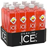 Sparkling Ice Lemonade, Strawberry, 17 Ounce Bottles (Pack of 12)