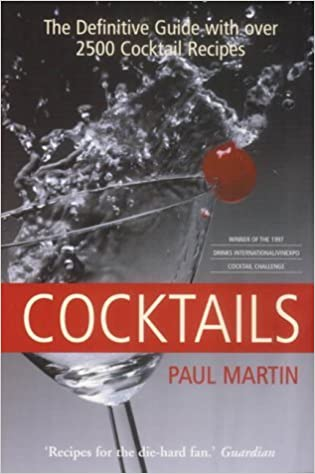 Book Cocktails: The Definitive Guide (Mammoth Books) by Mr Paul Martin (2003-10-17)