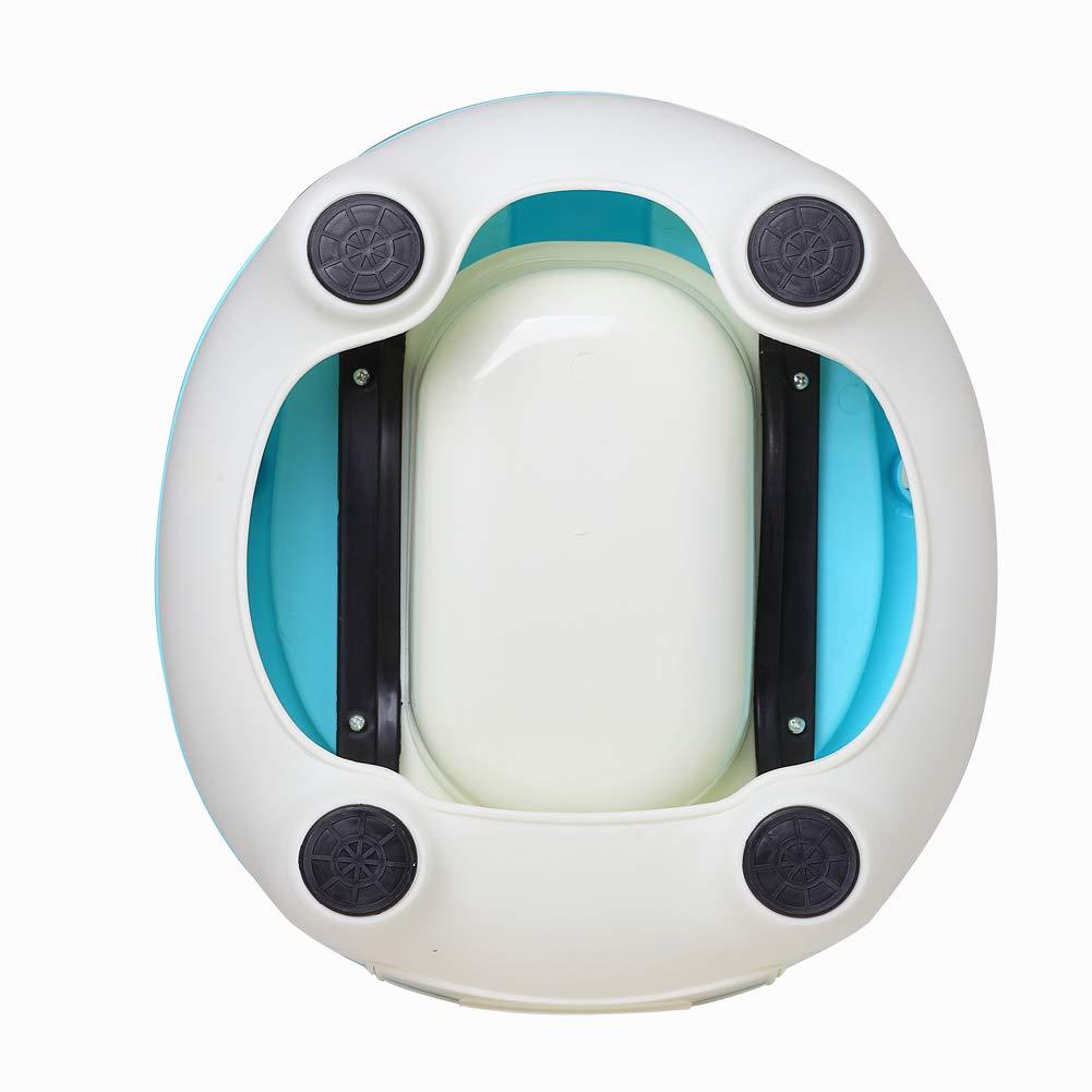 Glenmore Orinal Bebe Orinal para Infantil Ni/ño WC con Tapa Azul