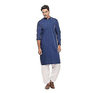 Indische Pakistanische Manner Kurta Pyjama Set Casual Party Tragen