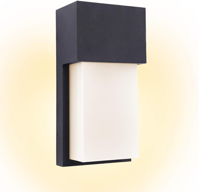 "Kernorv Led Wall Sconce, Modern Wall Sconce 10w Warm White Waterproof Outdoor Wall Light 4.7"" x 9.7"" (12w)"