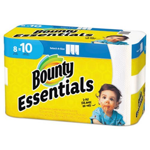 Bounty Paper Towels, 8 Count (Old Version) by Bounty