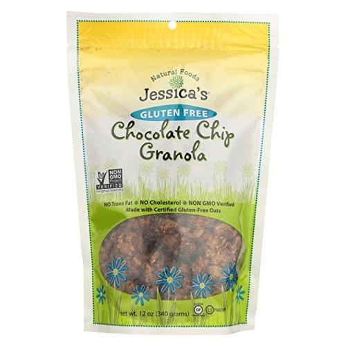 Jessica's Natural Foods Granola - Chocolate Chip - Case of 12 - 12 oz. by Jessica's Natural Foods